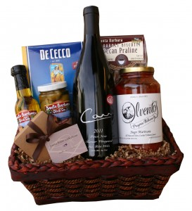 Ilvento's Italian Basket with Carr Pinot Noir