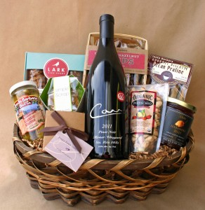 Carr 2013 Pinot Noir Turner Vineyard Gift Basket