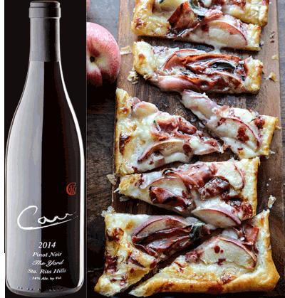 Prosciutto, Apple, Brie Flatbread with Raspberry Balsamic ...