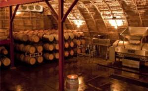 Barrel Room at Carr Winery in Santa Barbara, California