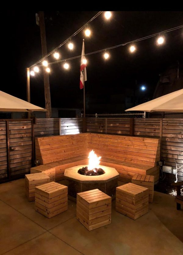 The Firepit at Carr Winery in Santa Barbara