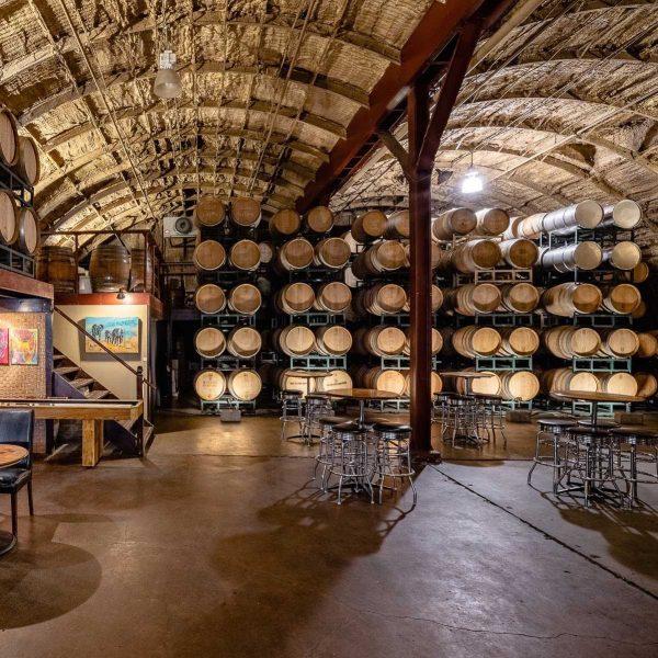 The Barrel Room at Carr Winery in Santa Barbara